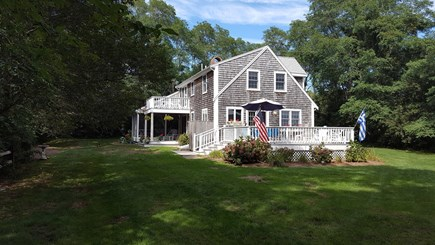 Eastham Cape Cod vacation rental - Front view of the home