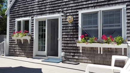 Eastham Cape Cod vacation rental - Front deck of house