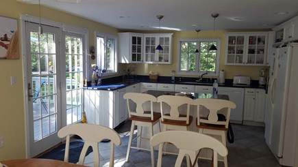 Eastham Cape Cod vacation rental - Kitchen with island