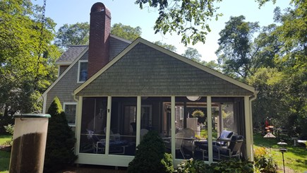 Eastham Cape Cod vacation rental - Back screened in porch