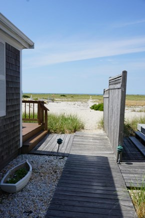 North Truro Cape Cod vacation rental - Path to beach