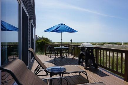 North Truro Cape Cod vacation rental - Deck looking towards Truro