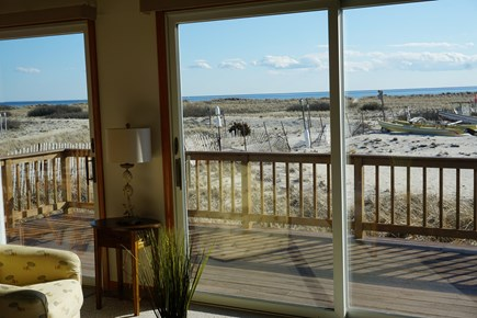North Truro Cape Cod vacation rental - View from Kitchen/Living/Dining rooms