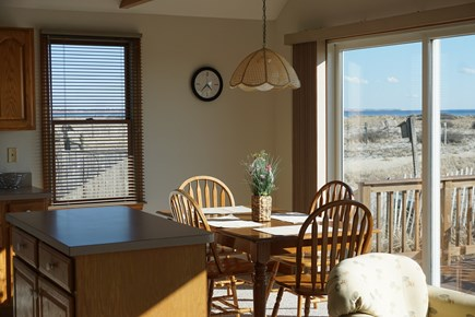 North Truro Cape Cod vacation rental - Dining areaa