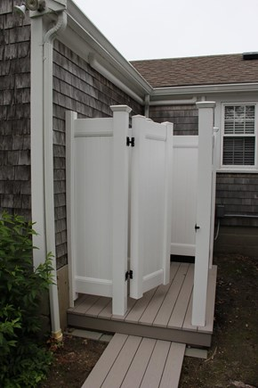 East Dennis Cape Cod vacation rental - Outside Shower