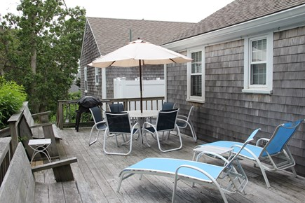 East Dennis Cape Cod vacation rental - Deck