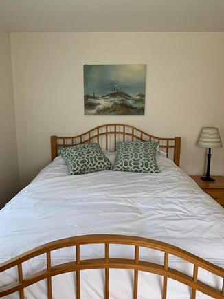 Dennis Port Cape Cod vacation rental - Master with queen bed, 2 dressers and TV