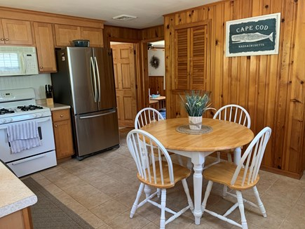 Dennis Port Cape Cod vacation rental - Fully equipped eat-in kitchen.