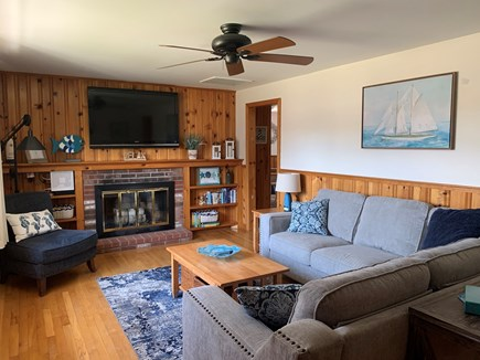 Dennis Port Cape Cod vacation rental - Cozy living room with all new furnishings