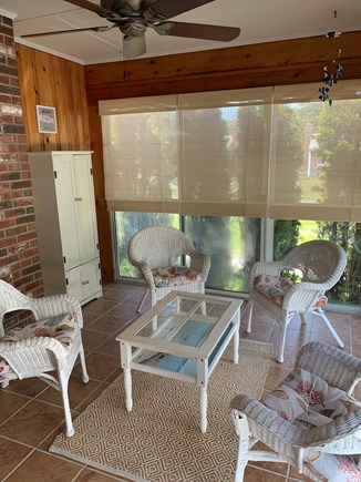 Dennis Port Cape Cod vacation rental - Relax in sunroom with a glass of wine or a good book.