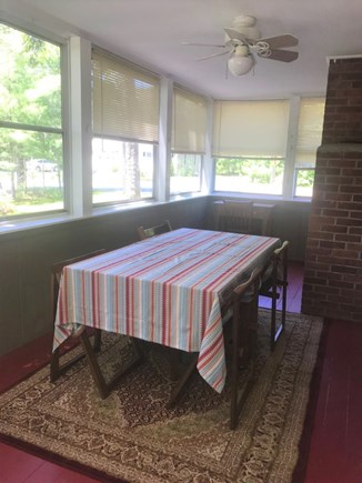 South Dennis Cape Cod vacation rental - Screened - In Porch