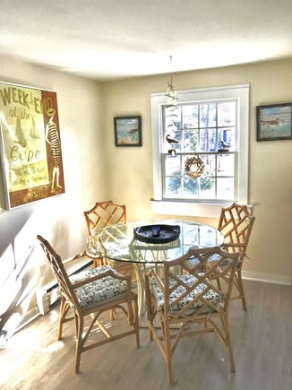 Hyannisport Cape Cod vacation rental - Sunny eat-in kitchen