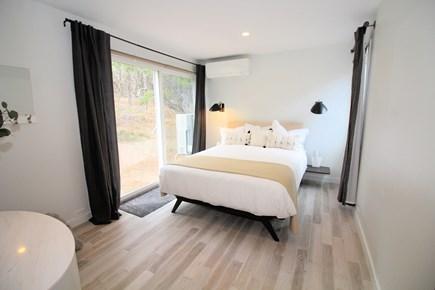 Wellfleet Cape Cod vacation rental - Bedroom with queen bed and slider