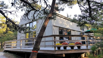 Wellfleet Cape Cod vacation rental - Home has a wrap-around deck and outdoor shower