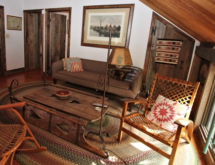 Wellfleet Cape Cod vacation rental - Second floor loft sitting area