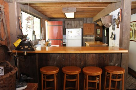 Wellfleet Cape Cod vacation rental - Breakfast bar with kitchen beyond