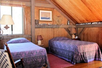 Wellfleet Cape Cod vacation rental - Second floor bedroom with two twins