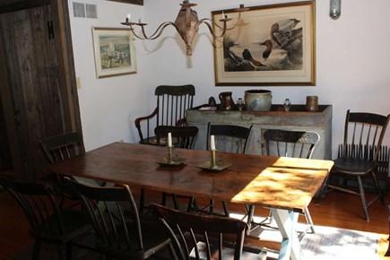 Wellfleet Cape Cod vacation rental - Separate dining room