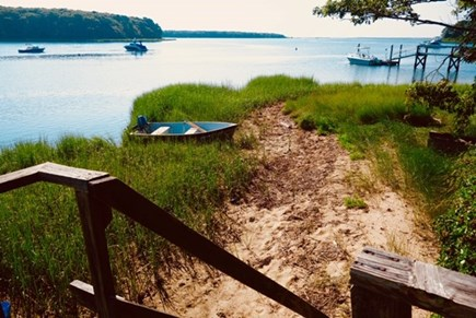 Mashpee Cape Cod vacation rental - Another view of the ocean from the property
