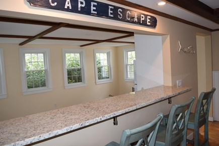 Mashpee Cape Cod vacation rental - Bar seating...pour a cup of coffee and chat with the cook!