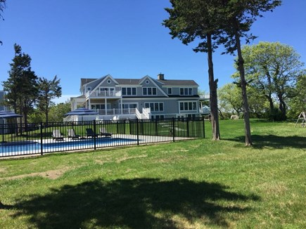 Brewster Cape Cod vacation rental - Enjoy the well-maintained grounds with mature trees