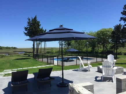 Brewster Cape Cod vacation rental - Enjoy the beautiful marshland view sitting on the patio