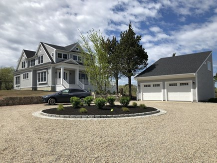 Brewster Cape Cod vacation rental - A beautifully landscaped driveway that can fit 10-12 cars