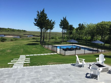 Brewster Cape Cod vacation rental - Enjoy the wood firepit in the evening