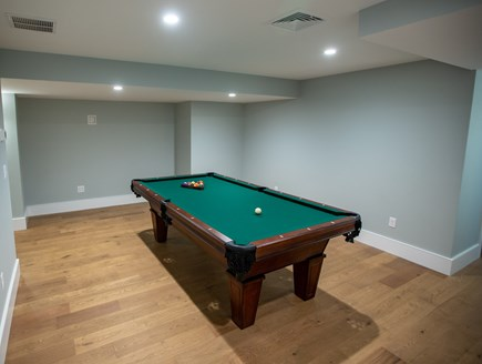 Brewster Cape Cod vacation rental - Playroom with pool and table tennis