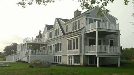 Brewster Cape Cod vacation rental - A beautiful lush green lawn