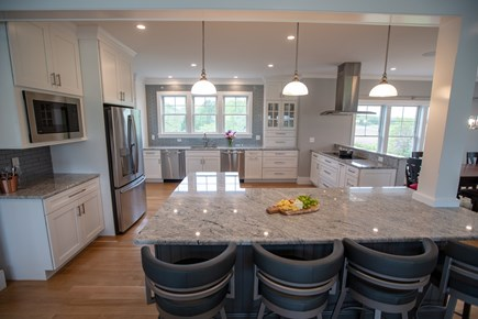 Brewster Cape Cod vacation rental - Large kitchen that can entertain a large group