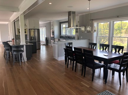 Brewster Cape Cod vacation rental - Dining and kitchen that entertain large groups