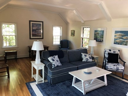 Brewster Cape Cod vacation rental - Family room with new furniture