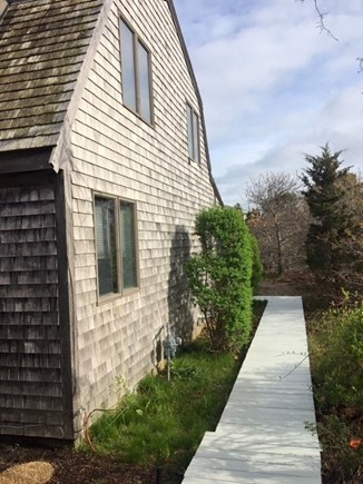 Eastham Cape Cod vacation rental - 15 Patrician Lane - Walkway to Private Back Deck