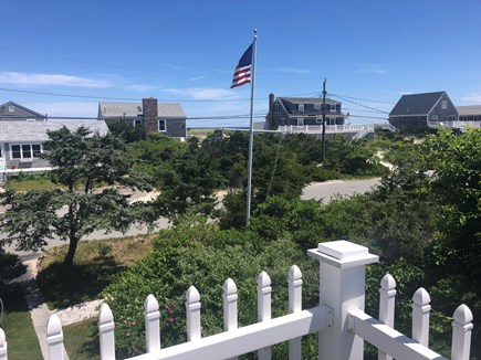 East Sandwich Beach Cape Cod vacation rental - View from upper floor master bedroom of the Cape Cod Bay