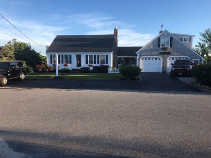 East Sandwich Beach Cape Cod vacation rental - Front view of house