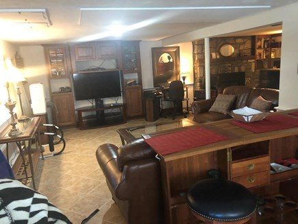 East Sandwich Beach Cape Cod vacation rental - Lower level media room