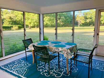 Cotuit Cotuit vacation rental - Porch - Tons of lighting, great for evening hangouts