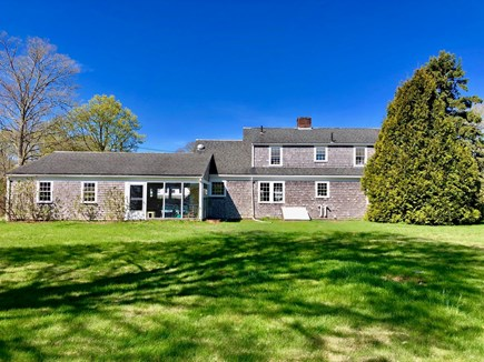 Cotuit Cotuit vacation rental - Back of House - large, luscious backyard great for cookouts