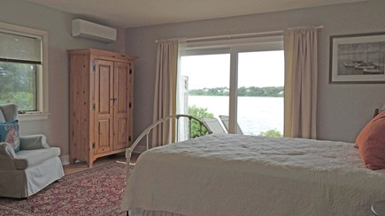 Eastham Cape Cod vacation rental - First floor master with laundry in the bathroom