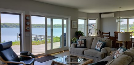 Eastham Cape Cod vacation rental - Living room / dining room / View