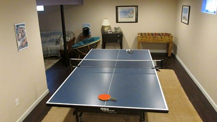 Eastham Cape Cod vacation rental - Lower Level - Ping Pong Table