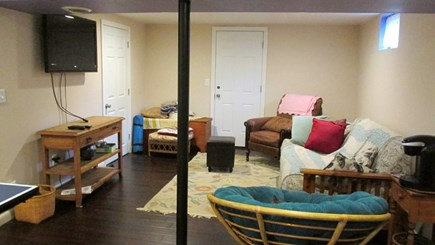 Eastham Cape Cod vacation rental - Lower Level - TV and Sitting Area