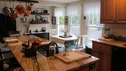 Eastham Cape Cod vacation rental - Kitchen to Dining Area