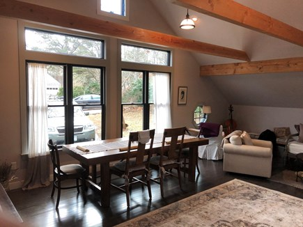 Eastham Cape Cod vacation rental - New Great Room - Dining Table