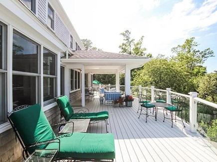 East Orleans Cape Cod vacation rental - Deck with electronic screened porch