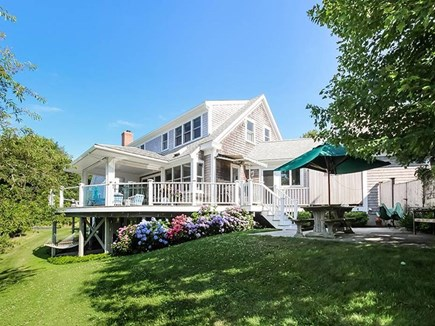 East Orleans Cape Cod vacation rental - Rear of home