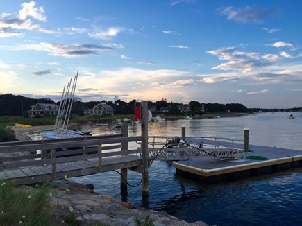 East Falmouth Cape Cod vacation rental - Yacht Club dock (separate cost) - less than 5-minute walk