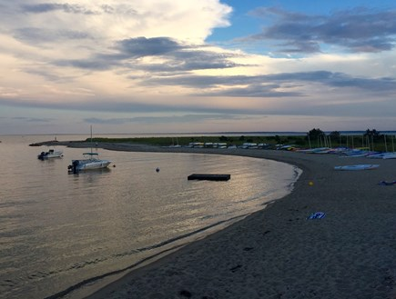 East Falmouth Cape Cod vacation rental - Yacht Club beach (separate cost) - less than 5-minute walk