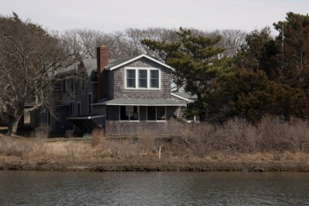 East Falmouth Cape Cod vacation rental - From across the pond